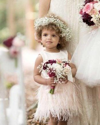 Verenjurkje voor kind- Fé – roze