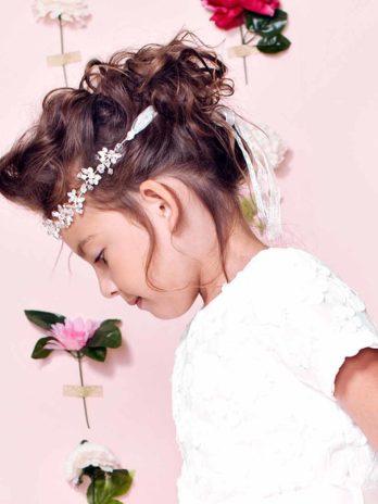 Haarband Sparkle – zilver