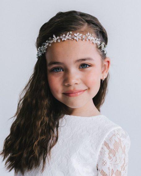 Haarband met strass steentjes voor kinderen