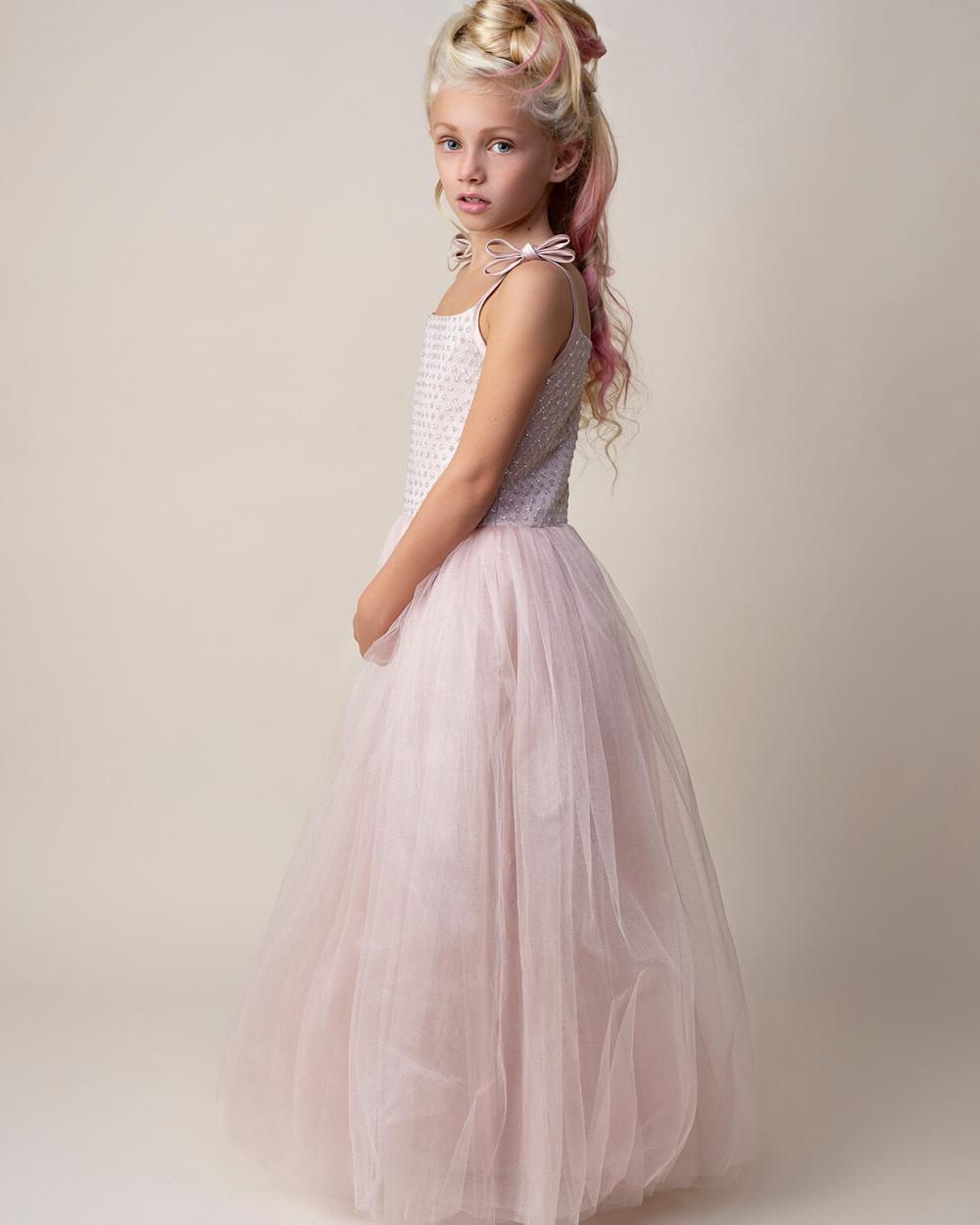 Goede Lange roze jurk voor bruidsmeisjes of als feestjurk ♡ So Cute! AY-95