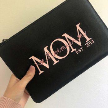 Tasje voor mama's – zwart