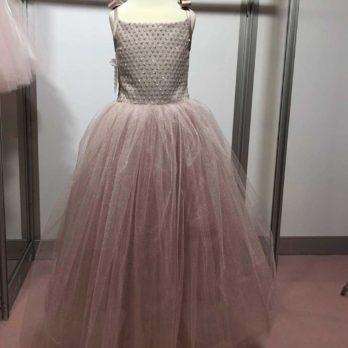 Lange jurk – Jurkje Opal – oudroze