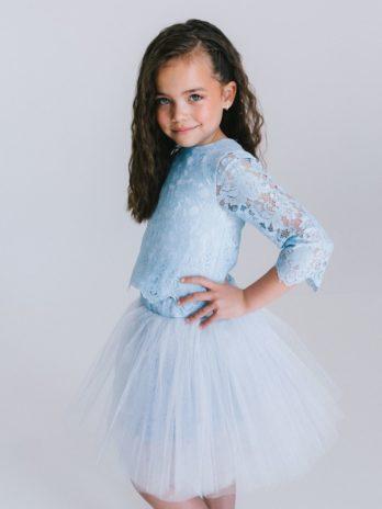 Tule rok Mia – lichtblauw