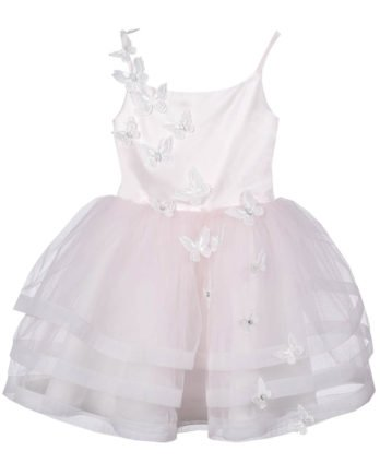 Dress with tulle – Dress Vlinder – Pink