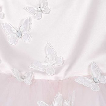Jurk met tule – Jurkje Vlinder – Roze