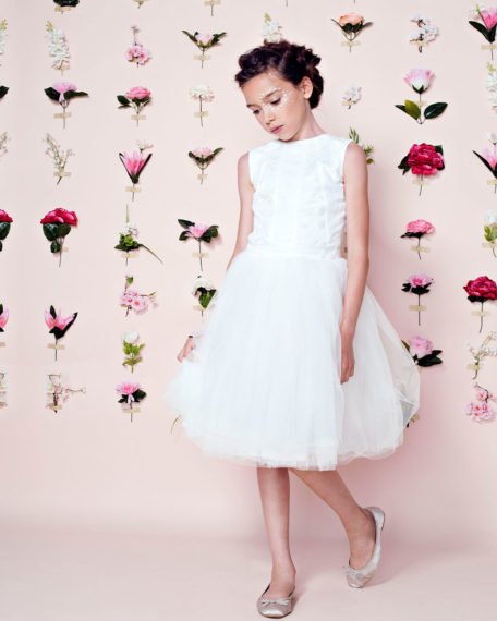 Bridesmaids dress tulle tulle bridal kindermode dress dresses child girl girls kids bridesmaid dress ivory off white off white lace kids bruidsjurkje so cute! Children's Bridal Fashion girl Party dress communion with communion clothing communion rug Dress size 74 80 86 92 98 104 110 116 122 128 132 140 146 152
