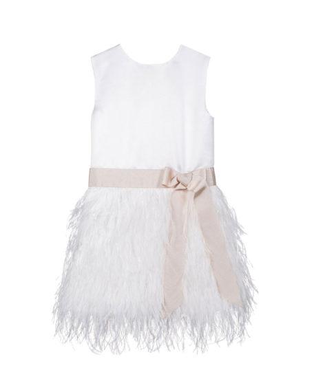 So Cute   Fé Dress Ivory   Bruidsmeisjeskleding