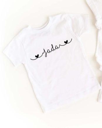 T-shirt met je eigen naam voor kinderen