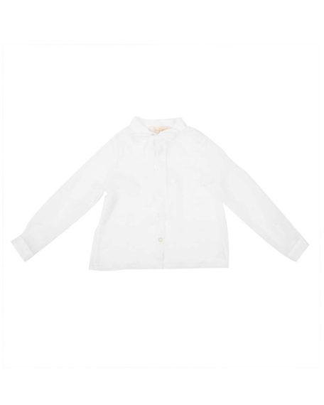 blouse ivoor wit kinderen kinderkleding meisjes strik