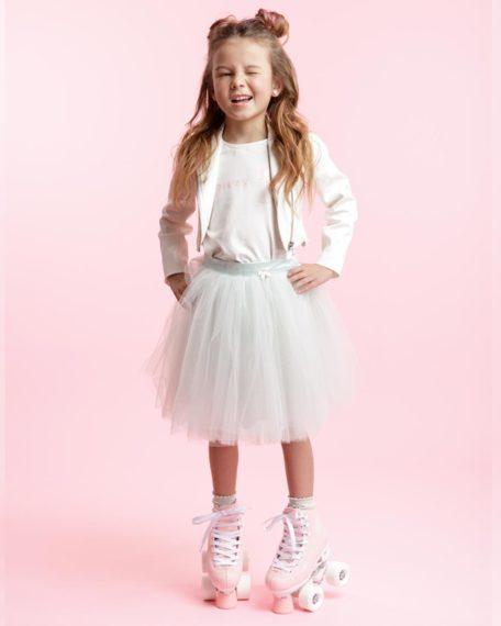 Tule rok mint meisjes kinderen bruidsmeisje kort feestkleding kinderen meisje