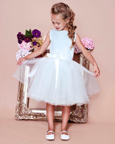 mintkleurig jurkje bruidsmeisje