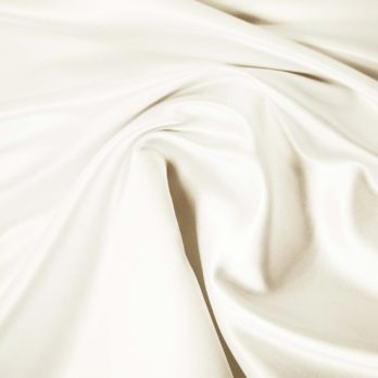 fabric swatch satin ivory