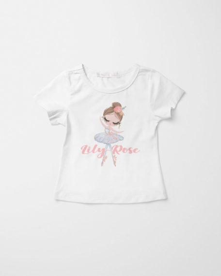 Ballet T-shirt meisjes