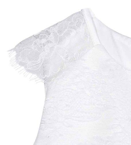 bruidsmeisjeskleed met kant