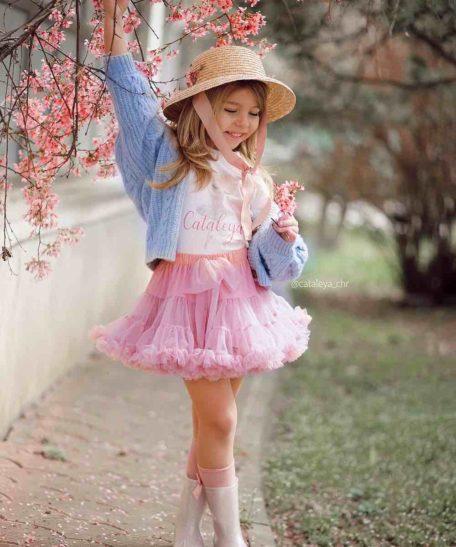 Tule tutu rokjes oudroze roze voor meisjes