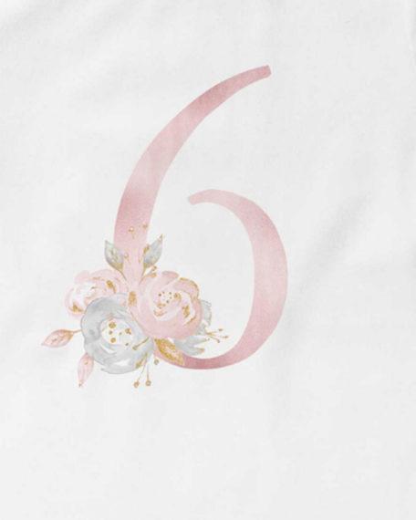 Verjaardag T-shirt voor meisjes