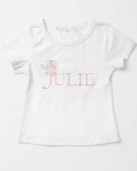 T-shirt met naam voor kinderen
