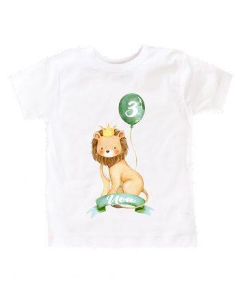 Verjaardag T-shirt – Leeuw