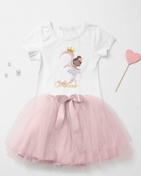 verjaardag kleding voor meisjes met naam
