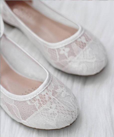Kanten schoentjes meisjes kin ivoor gebroken wit online webwinkel