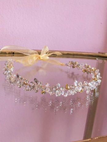 Haarband Sparkle – goud