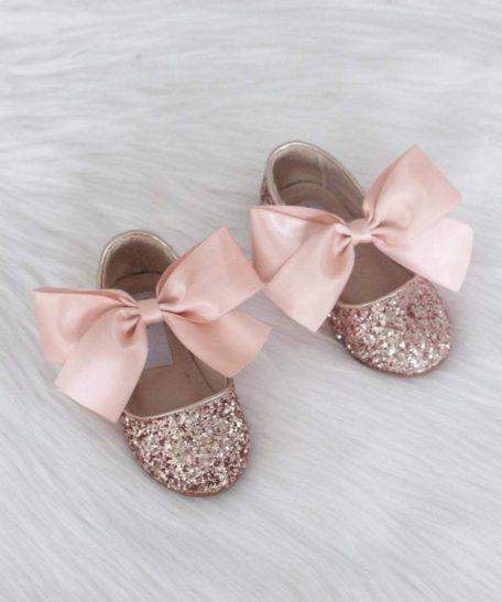 Schoenenwinkel Eindhoven voor meisjes feestschoenen kopen roze glitter