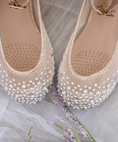 Glitter schoenen voor meisjes goud