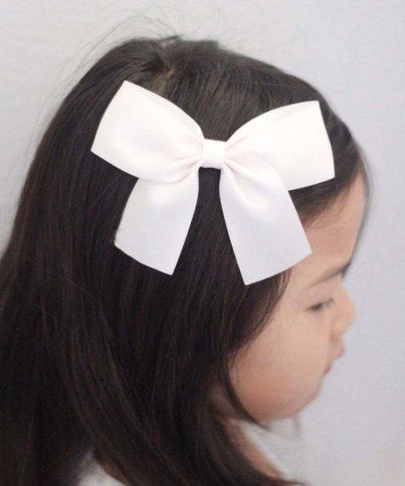 Haarstrik voor meisjes lichtroze