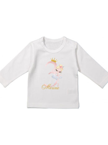 Verjaardag T-shirt lange mouw voor meisjes – Ballerina Lili
