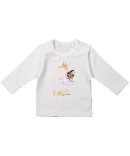 Verjaardag t-shirt 1 2 3 jaar meisjes lange mouwen