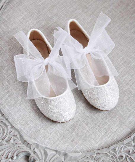 Feestschoen meisjes wit ballerina's eindhovense kinderschoenenwinkel