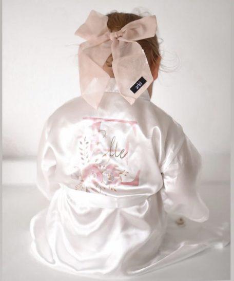 Kinder kimono gepersonaliseerd met naam