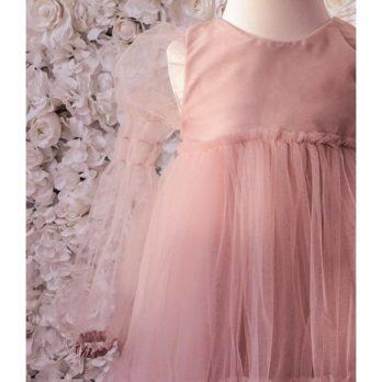 Tule jurkje Louella – oudroze