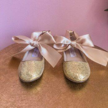 Disco glitter ballerina – goud