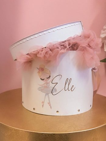 Tutu in the Box – Tule rokje in gepersonaliseerde luxe doos met afbeelding