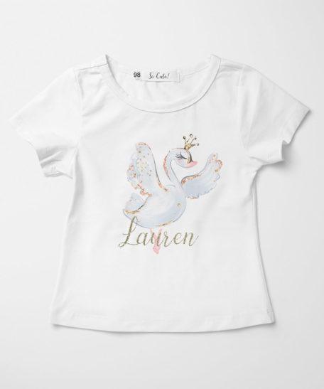 Zwaan T-shirt meisjes