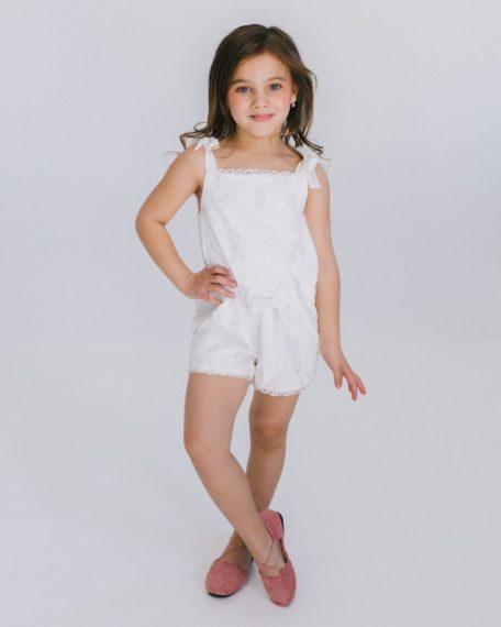 Jumpsuit gebroken wit voor meisjes