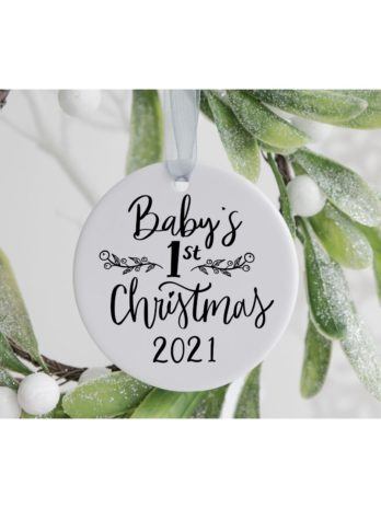 Kersthanger – Baby's first Christmas