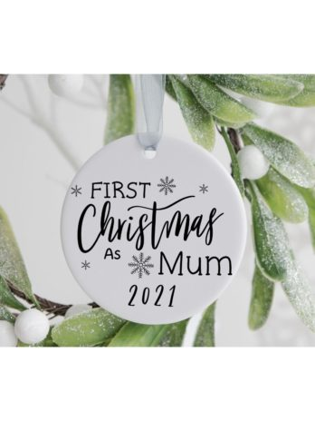 Kersthanger – First Christmas as Mum