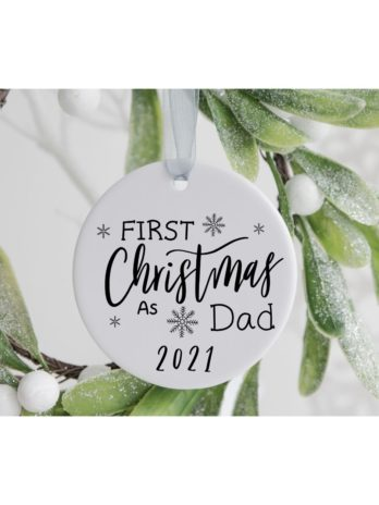 Kersthanger – First Christmas as Dad