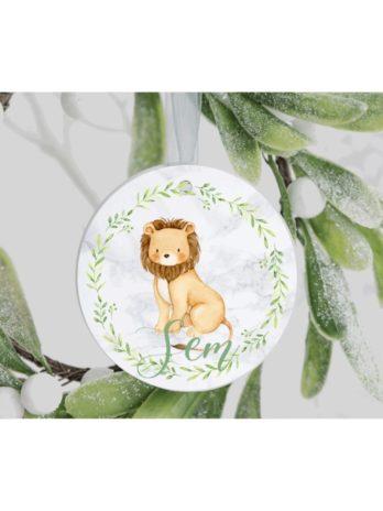 Kersthanger met naam – Leeuw