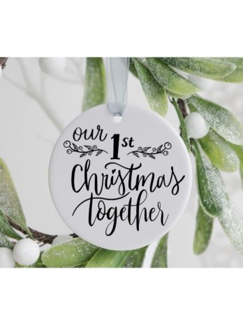 Kersthanger – Our first Christmas together
