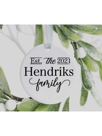 Kersthanger – Familie Est.